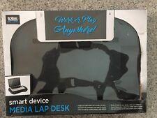 Laptop Cooling Pad Lap Desk LapGear Smart Media Desk II Plus Cushion Base Black