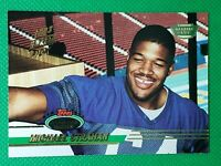 1993 Stadium Club Members Only #384 Michael Strahan HOF RARE ROOKIE NY Giants