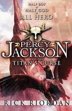 Percy Jackson and the Titan's Curse by Rick Riordan Medium Paperback