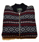 Maglia Jumper Uomo Men giro Fred Perry Made In Italy maglione Lana Wool Full zip