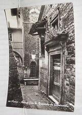 ASSISI ANTICA CASA DI BERNARDO DA QUINTAVALLE Vecchia foto cartolina fotografia
