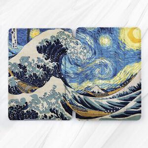 Van Gogh Kanagawa Great Wave Art Case For iPad 10.2 Air 3 Pro 9.7 10.5 12.9 Mini