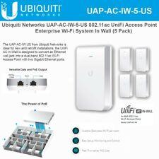 Ubiquiti UAP-AC-IW-5-US  UniFi AP AC In Wall US Version (5-Pack)