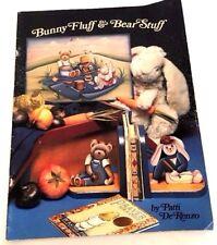 Bunny Fluff & Bear Stuff Patti DeRenzo Tole Painting Decorative Pattern Book