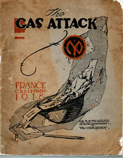 Gas Attack - France Christmas 1918, The 27th American Division, New ork Division