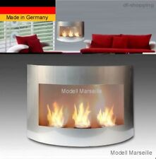 Gel- and Ethanol-Fireplace Marseille-Silver / fireplace fire place bio ethanol