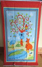 "1 Darling ""Aussie Mates"" Cotton Multi-Color Quilting Crafting Fabric Panel"