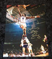 Julius Erving NBA HOF signed autographed 11x14 one handed dunk photo PSA DNA COA