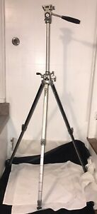 "Vintage - VELBON VS-3  Heavy Aluminum Camera/Video Tripod  25""-60"" Height"