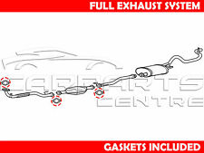 FOR MITSUBISHI L200 2.5 TDI K74 FRONT PIPE CENTRE CAT REAR SILENCER FULL EXHAUST