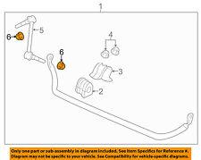 Chevrolet GM OEM 11-17 Caprice Stabilizer Bar-Front-Stabilizer Link Nut 11588431