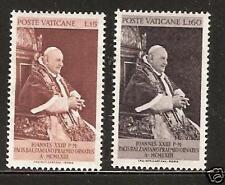 VATICAN CITY # 360-361 MNH POPE JOHN XXIII PEACE PRIZE