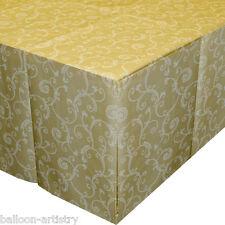 Crema 25 90cm 2ply confezione lavabile di alta qualità Catering Festa di nozze tabella panno antiscivolo copre