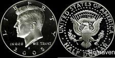 2005 S 90% Silver Kennedy Half Dollar Deep Cameo Gem Proof No Reserve