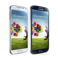 5.0'' Samsung Galaxy S4 I9500 (Unlocked) Cellphone 16GB 13MP - Black/White/Blue