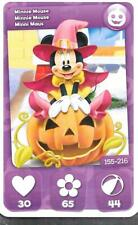 Carte Mickey Mouse & Friends - n° 155 - Minnie Mouse - Halloween - 2012