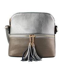 New UK Women s Tassel Zip Cross Body Messenger Hand Bag Small Shoulder Bag  Purse 1abbd2894e433