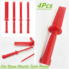 4X Heavy Duty Car Door Plastic Trim Panel Headlight Taillight Lamp Removal Tool