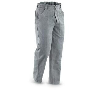 made by Swiss Army trousers Denim Grey Vintage Work Prison Cotton Vintage Jeans