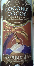 the Republic of Tea Coconut Cocoa Cuppa Chocolate 36 Bags Herbal Low in Caffeine