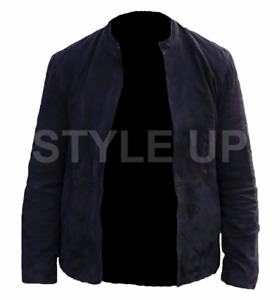 MISSION IMPOSSIBLE FALL OUT TOM CRUISE ETHAN HUNT CASUAL SUEDE LEATHER JACKET