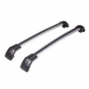 2x New Roof rack / cross bar for Hyundai Santa fe 2012-2016 goes on flush rail