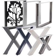 Tischgestell Tischbeine X U Industrie Loft Farbik Style Möbelbeine Tisch Stahl