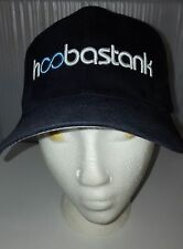 HAT/CAP - HOOBASTANK-DARK BLUE- FITTED - MENS- S/M -3D EMBROIDERED LETTERS- NEW