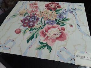 "Robert Allen Shirley Pattern Furniture Fabric. Sample. 25 "" x 22 "". Sewing"