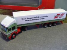 1/87 Herpa Iveco Turbostar Wandt Planen-Sattelzug 304719