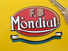 FB-Mondial Moto Adesivo Bici Corsa GP MOTO GP WORLD CHAMPIONSHIP CORSE TT