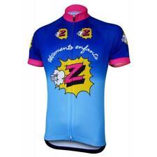 Team Z Vetements Enfants Retro Cycling Jersey cycling Short Sleeve Jersey