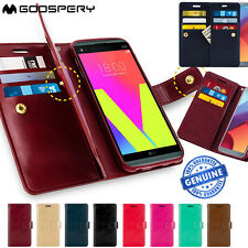 LG V20 Case Genius Mercury Mansoor Wallet Leather Flip Card Slots Cover FOR LG