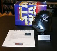 DAVID DAVE PROWSE signed autographed DARTH VADER HELMET Star Wars PSA JSA