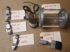 Lube Devices Chain Oiler Parts: 120VAC 16oz Reservoir - 3x Needle Valves - Brush