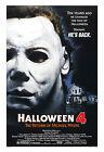Horror: Michael Myers * Halloween 4: The Return of Michael Myers* Poster  13x19