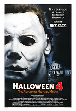 * Halloween 4: The Return of Michael Myers* Movie Poster Large Format 24x36