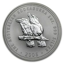 2006 AUSTRALIAN KOOKABURRA BIRDS 1 Oz. SILVER COIN
