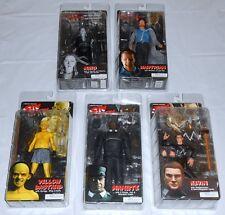 Lot 5 NECA Frank Miller's Sin City Action Figures Miho, Hartigan, Manute, Kevin