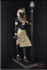 Ägyptische Lampe Stehlampe Pharao Tutanchamun Skulptur Beleuchtung Kunstharz