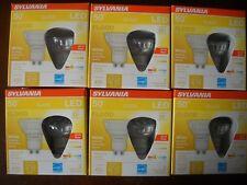 12 x Sylvania GU10 LED Dimmable Light Bulbs New! 6w = 50w PAR16 22 Year Life