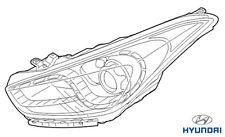 Genuine Hyundai i40 Tourer Headlight RH Drivers - 921023Z345