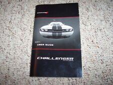 2011 dodge challenger srt8 392 owners manual