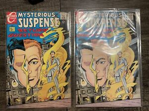 Mysterious Suspense # 1 (1968) Charlton Comics Signed Autographed By Steve Ditko