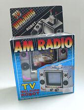 Vintage TV Walking AM Radio ROBOT Transformer MIB 1985