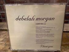 I Love You by Debelah Morgan (CD, PROMO Single)