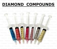 10 gm DIAMOND COMPOUND PASTE LAPPING SHARPENING KNIFE BLADE RAZOR MICRON GRIT