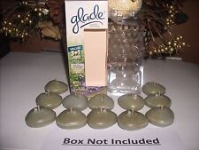12 BAYBERRY SPICE Glade Scented Oil Candle refills NO BOX
