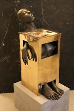 """""""FOUNTAINHEAD""""  WORLD FAMOUS and INFAMOUS BRONZE SCULPTURE by MICHAEL MOFFETT"""