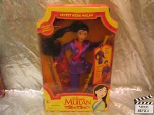 Mulan Secret Hero Doll NEW Mattel